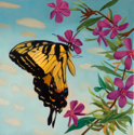 Butterfly I  12x12  2010