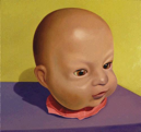 Doll Head I (Awake)  18x19  2002