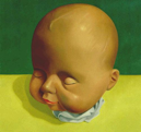 Doll Head II (Asleep)  18x19  2002