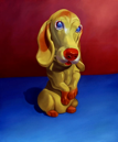 Doll VI (Yellow Dog)  38x32  2003