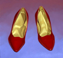 Red Shoes  18x19  2000